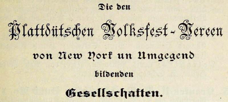NewYork_Plattdeutsch_Vereine
