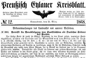 Kreisblatt_1868_Darlehen