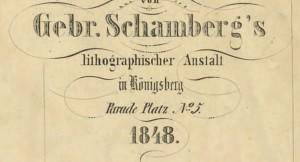 Schamberg_Königsberg