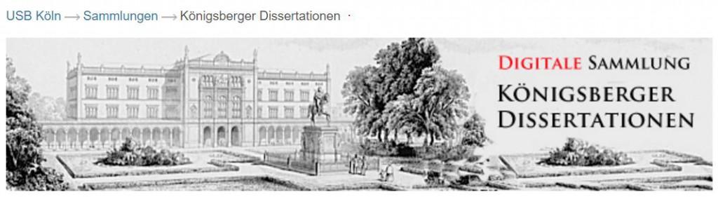 USB_Köln_Königsberger_Dissertationen