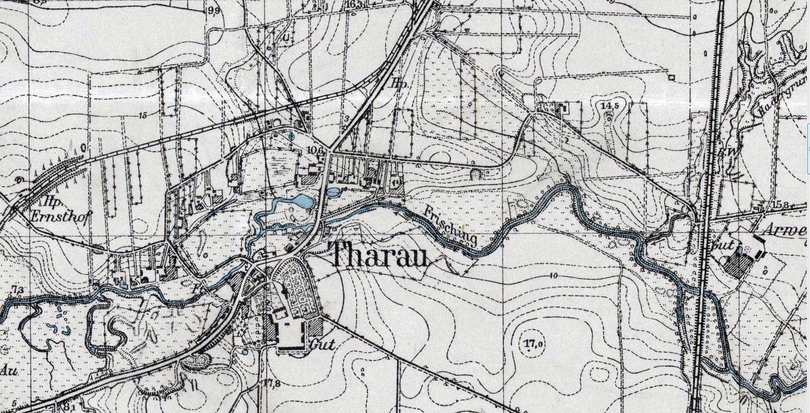 Tharau_Karte