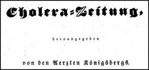 Cholera-Zeitung