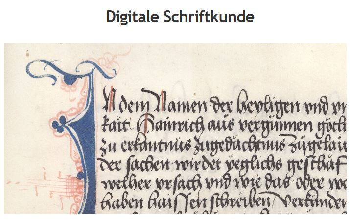 DigitaleSchriftkunde