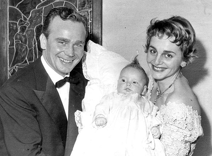 Onkel Willi und Tante Thea mit Tochter Manuela